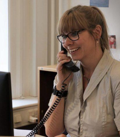 Lydia Langgaard Djurhuus, sekretariatet