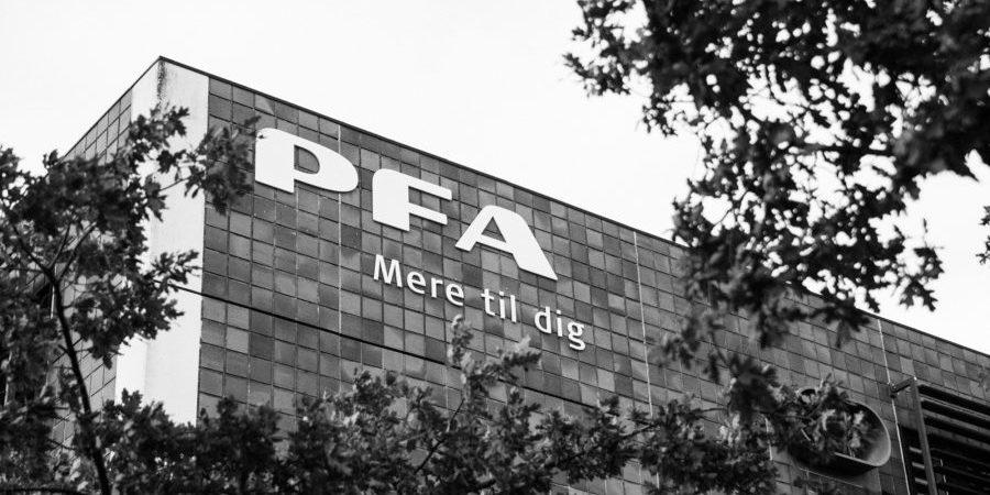PFA - MEre til dig. PFA bygning