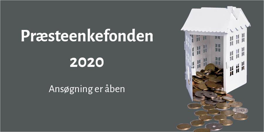 Præsteenkefonden 2020. Ansøgning er åben