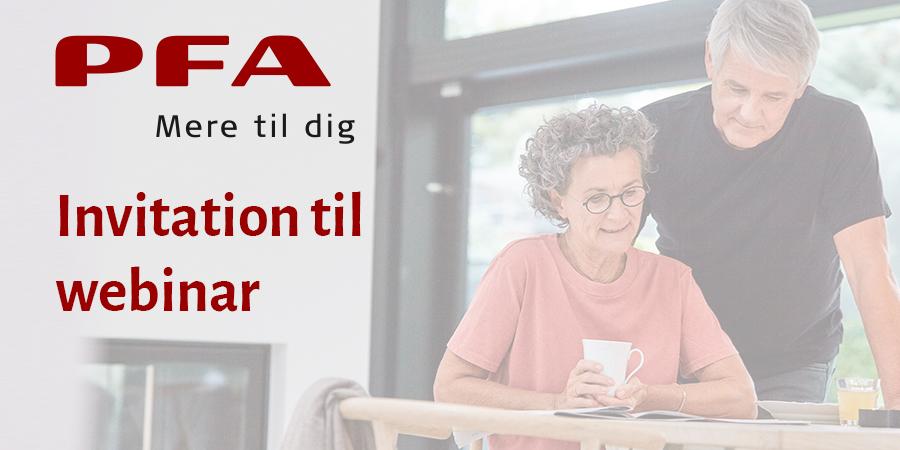 PFA - Invitation til webinar