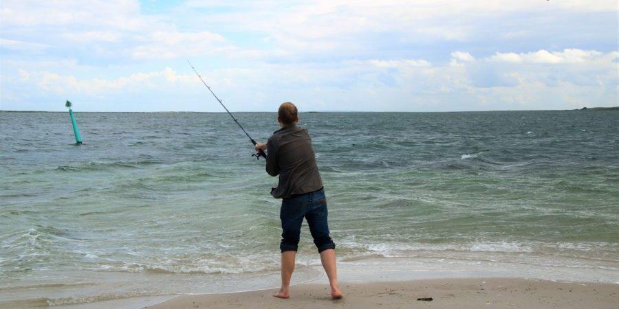 En der fisker
