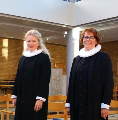 To præster i kirke