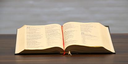 Opslået bibel